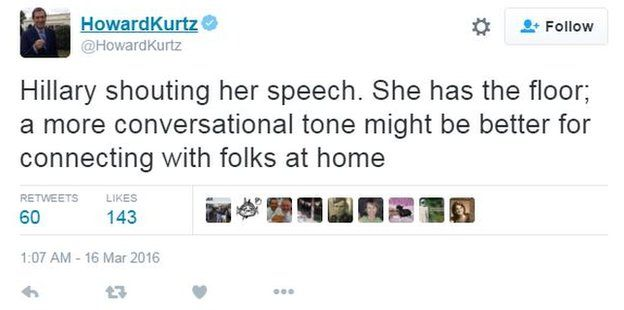Howard Kurtz tweet