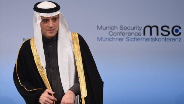 عادل الجبير في مؤتمر ميونخ الدولي للأمن