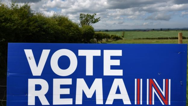 Remain sign