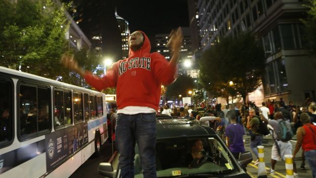 Protests in Charlotte