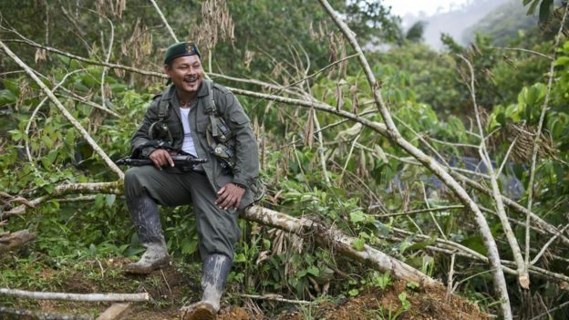 Guerrilleros de las FARC,