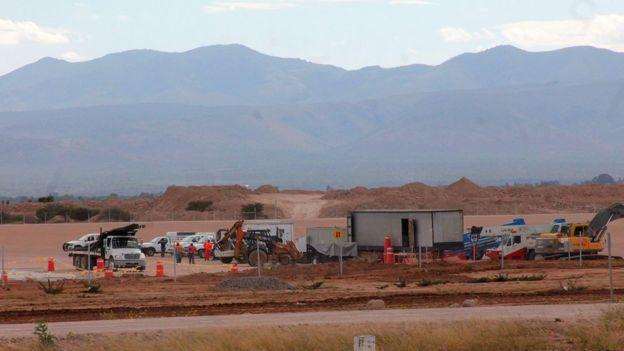 Construcción de planta de Ford en San Luis Potosí