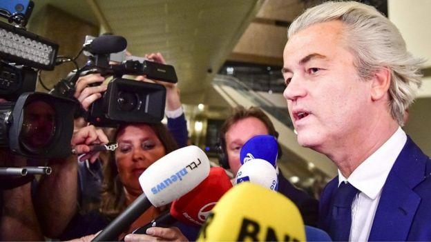 Geert Wilders ayaa sheegay in guusha xisbigiisu ay tahay