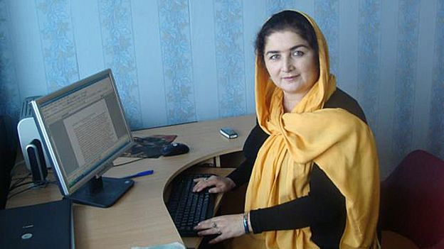 Журналистка из Таджикистана Сурае Шуджоат