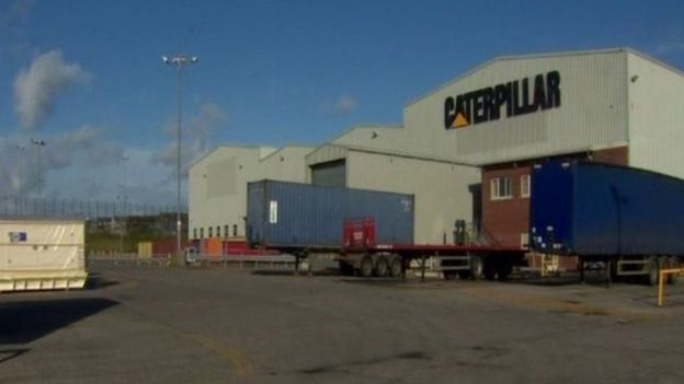Caterpillar said it had reported the incident when it was discovered