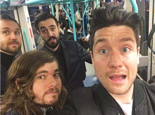 Bastille stuck on the tube