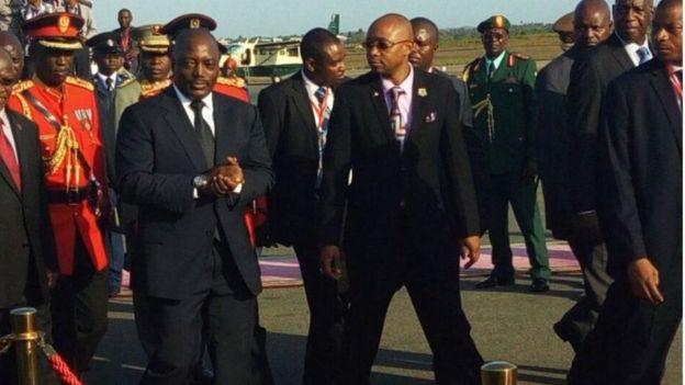 Rais Joseph Kabila wa Jamhuri ya Kidemokrasia ya Kongo