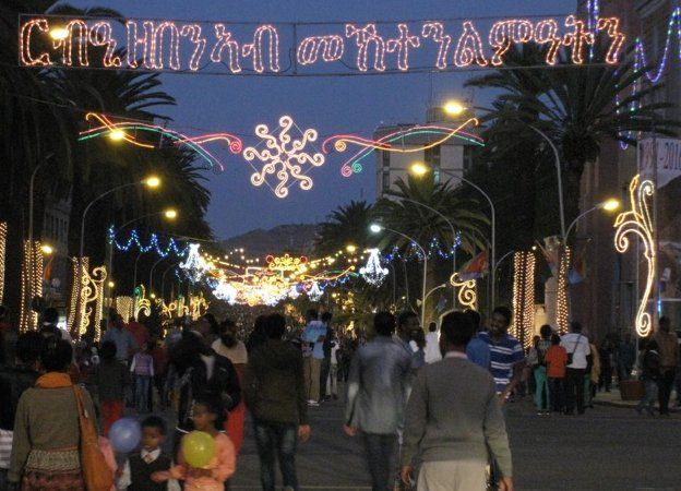 Asmara night lights