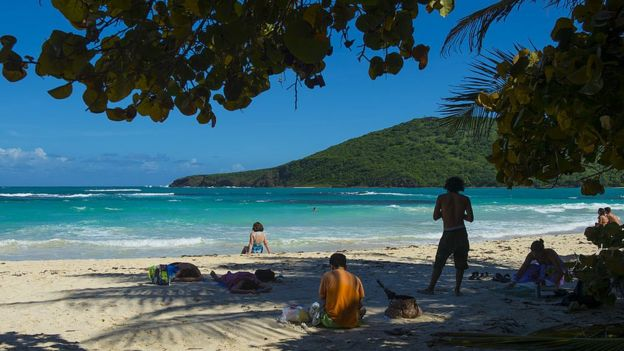 Playa Flamenco, Culebra, Puerto Rico.