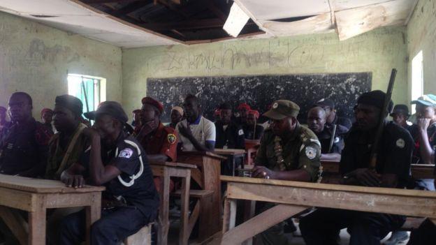 Local hunters and vigilantes in Nigeria's Adamawa state