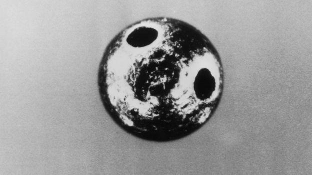 La pelotita encontrada en el muslo de Markov.