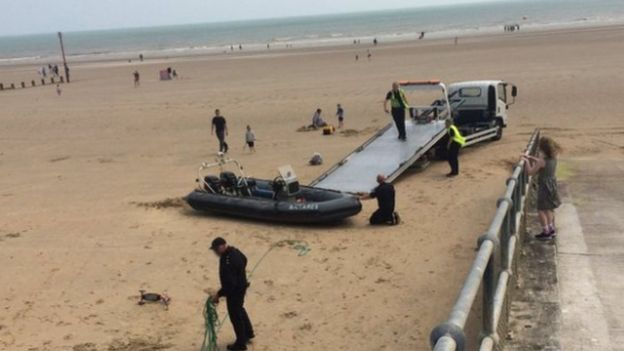 Migrant boat rescue in Briton: Two Britons charged over Channel incident