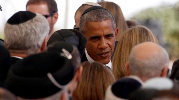 Bw Barack Obama akihudhuria mazishi hayo