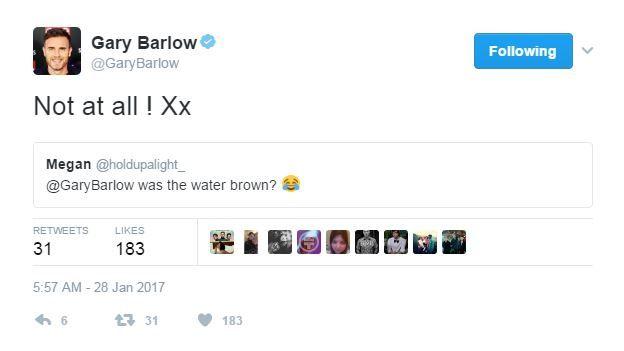 Gary Barlow tweet