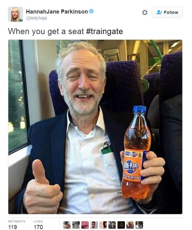 jeremy corbyn seatgate commute