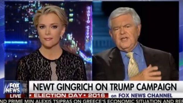 Newt Gingrich, Megyn Kelly