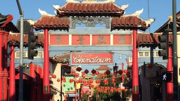 Barrio chino de Los Ángeles