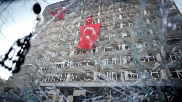 16 Temmuz sabahı, Ankara Emniyet Genel Müdürlüğü.