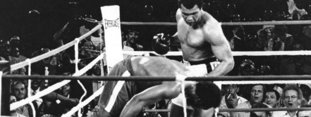 Muhammad Ali, 1974, Zaire
