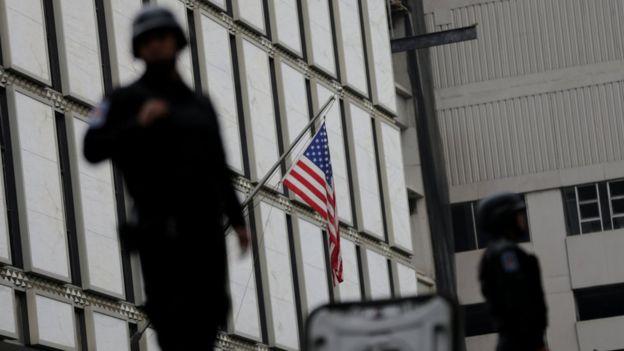 Embajada estadounidense en México