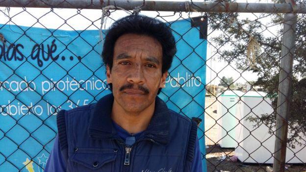 La familia de José Juan Hernández vende juegos pirotécnicos desde hace 30 años y lo perdió todo en la explosión del pasado martes.