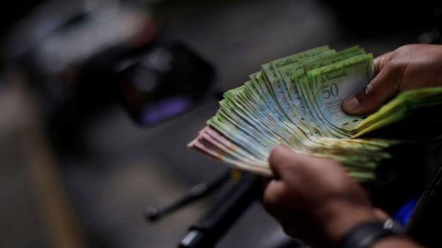 Venezuelan banknotes