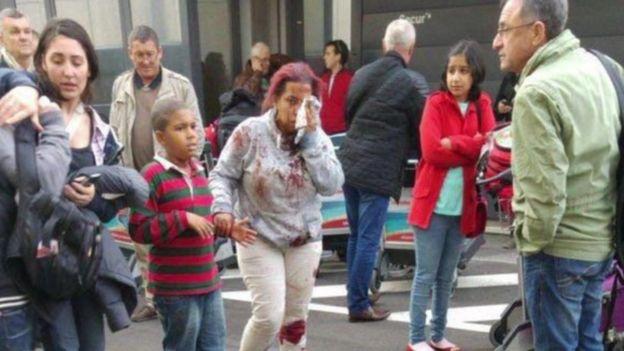 People injured after Brussels blast