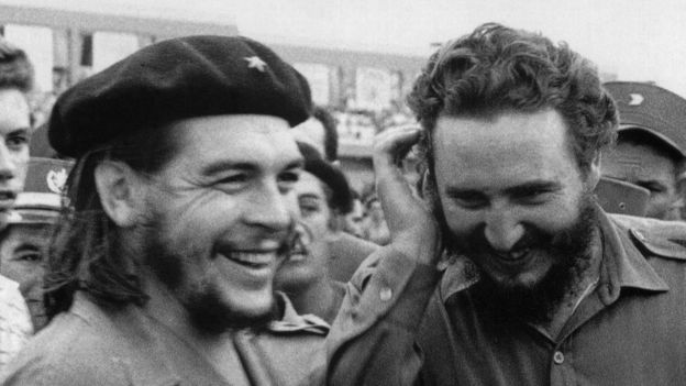 Fidel Castro y el Che