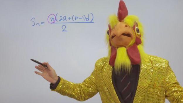 Cha Kil-yong, más conocido como Mr. Cha, es el profesor de matemáticas más famosos de Corea del Sur.