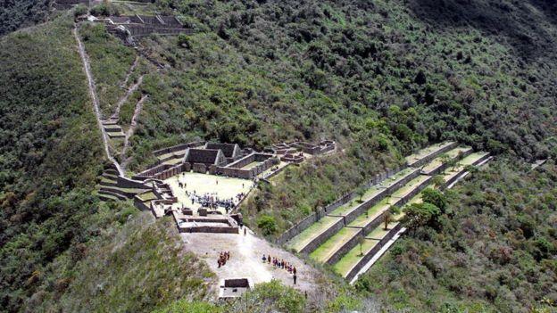 Sitio arqueológico de Choquequirao