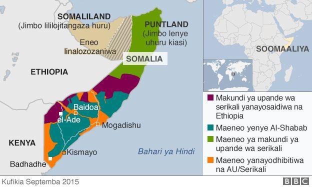 Udhibiti wa Somalia