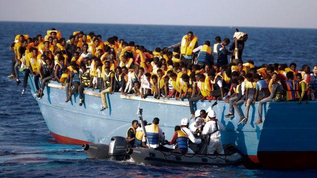 La plupart des migrants ont fui la guerre et la pauvreté.