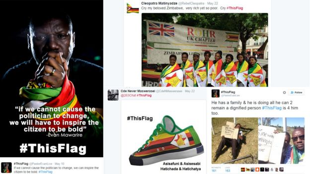Tweets using the hashtag #ThisFlag