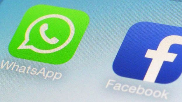 Whatsapp and Facebook icon