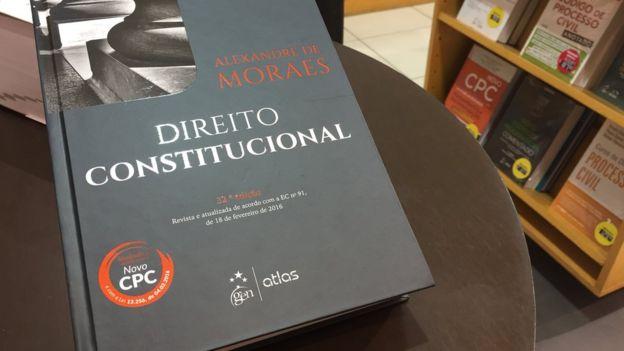 Livro de Alexandre de Moraes