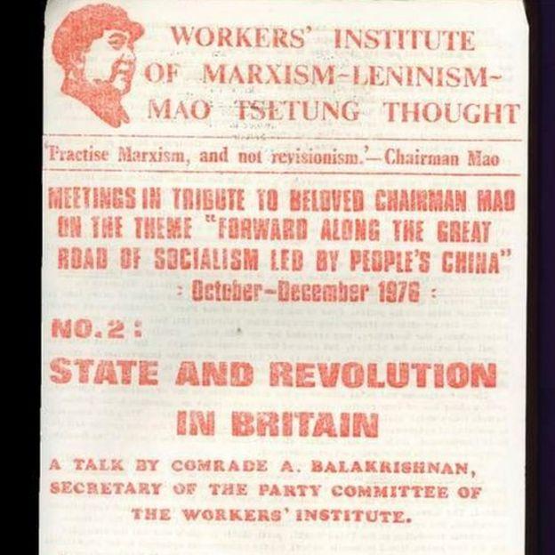 Jornal do Instituto dos Trabalhadores do Pensamento Marxista-Leninista-Mao Tsetung