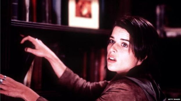 Neve Campbell in Wes Craven's Scream 3