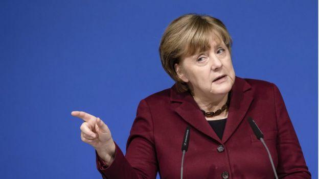 Ángel Merkel
