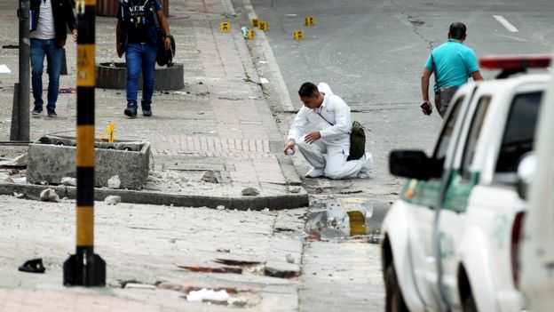 Bogota explosion: Many injured in blast near bullring  #Bogota #explosion