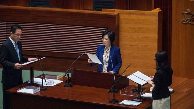 新民黨主席葉劉淑儀