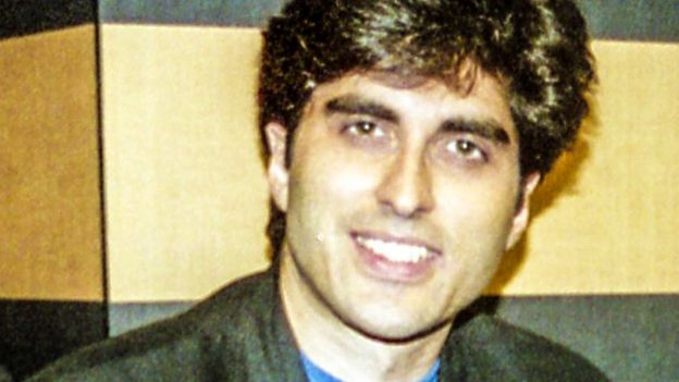 Junaid Jamshed a former musician with the Pakistani group Vital Signs, 2001
