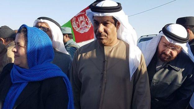 السفير الإماراتي في أفغانستان جمعة عبدالله الكعبي