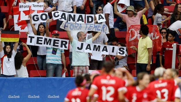 Protestos na Rio 2016
