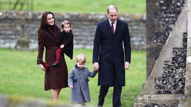 Prince William, Kate, Prince George, Princess Charlotte