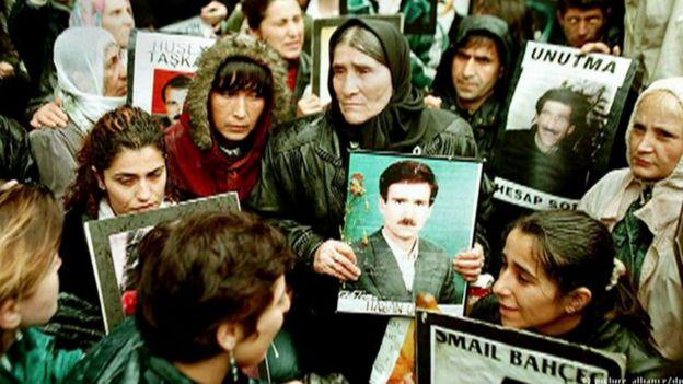 ناپدیدشدگان قهری در ترکیه