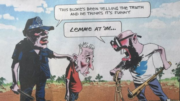A follow-up cartoon by Bill Leak