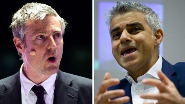 Sadiq Khan leads in London mayoral election