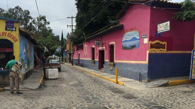 Calle de Ajijic.