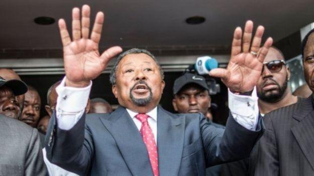Mpinzani nchini Gabon, na aliyekuwa mwenyekiti wa Muungano wa Afrika Jean Ping