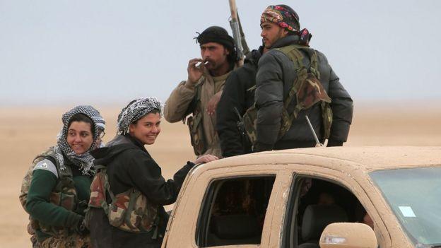 Suriye Demokratik Güçleri Rakka harekatında